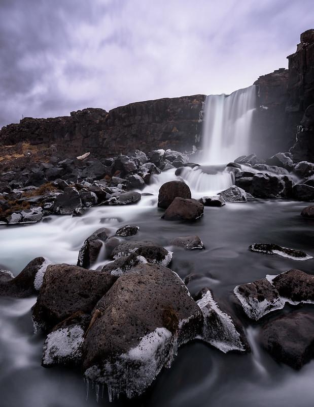 Öxarárfoss, entre Reykjavik et le Golden Circle
