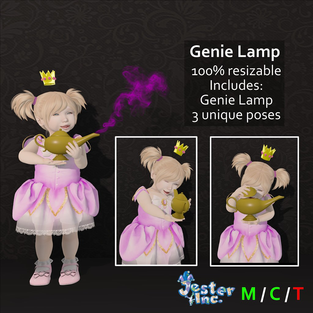 Presenting the Genie Lamp from Jester Inc.