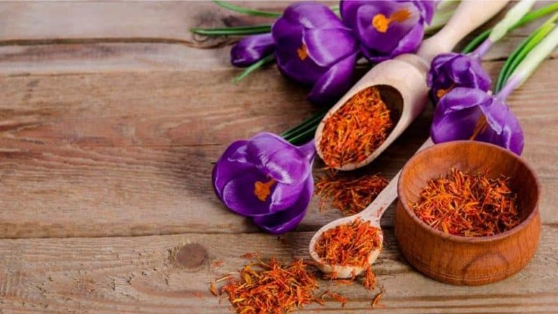 Kesar Saffron Nutrients Benefits Uses Dose Side Effects