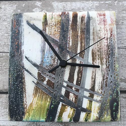 Raku clocks