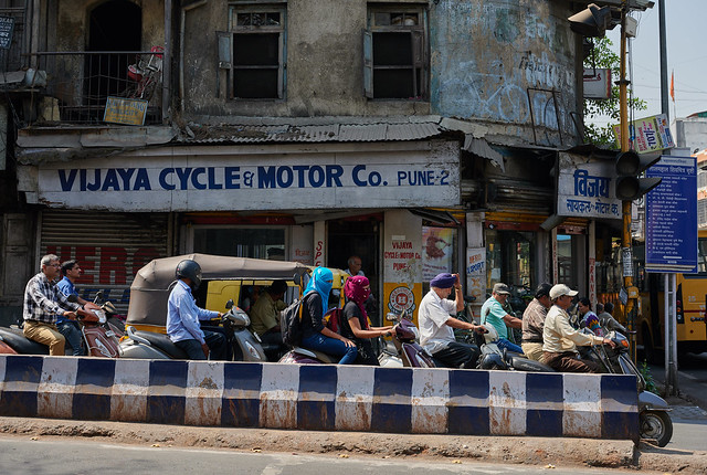 The streets of Poona - 3