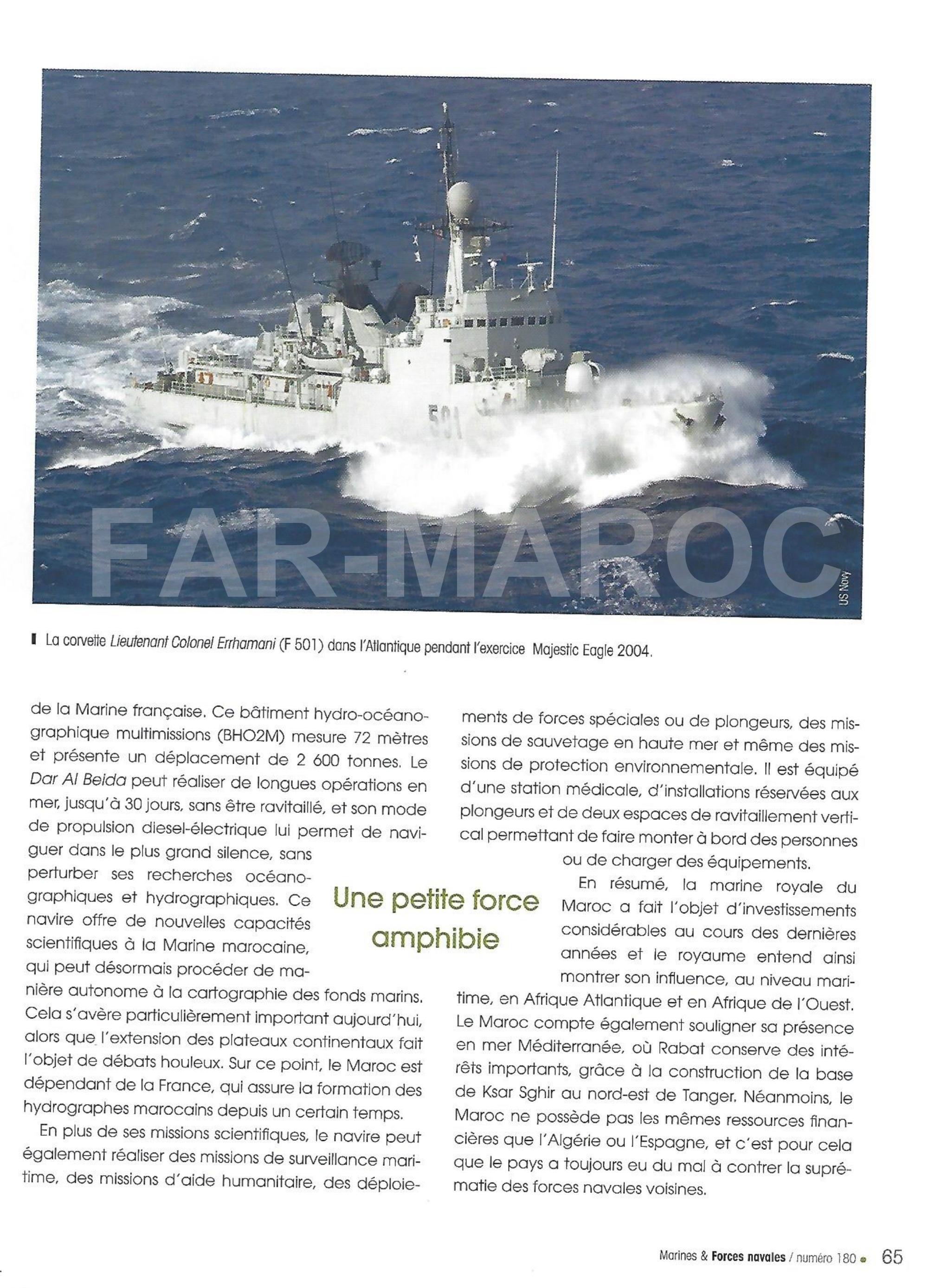 Articles à propos de la Marine Royale Marocaine 47598452931_e0ddd0e185_o