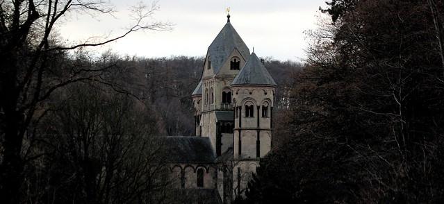 Behind monastery walls