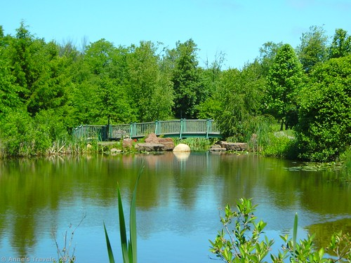 Small pond at the Kent Park Arboretum, Webster, New York