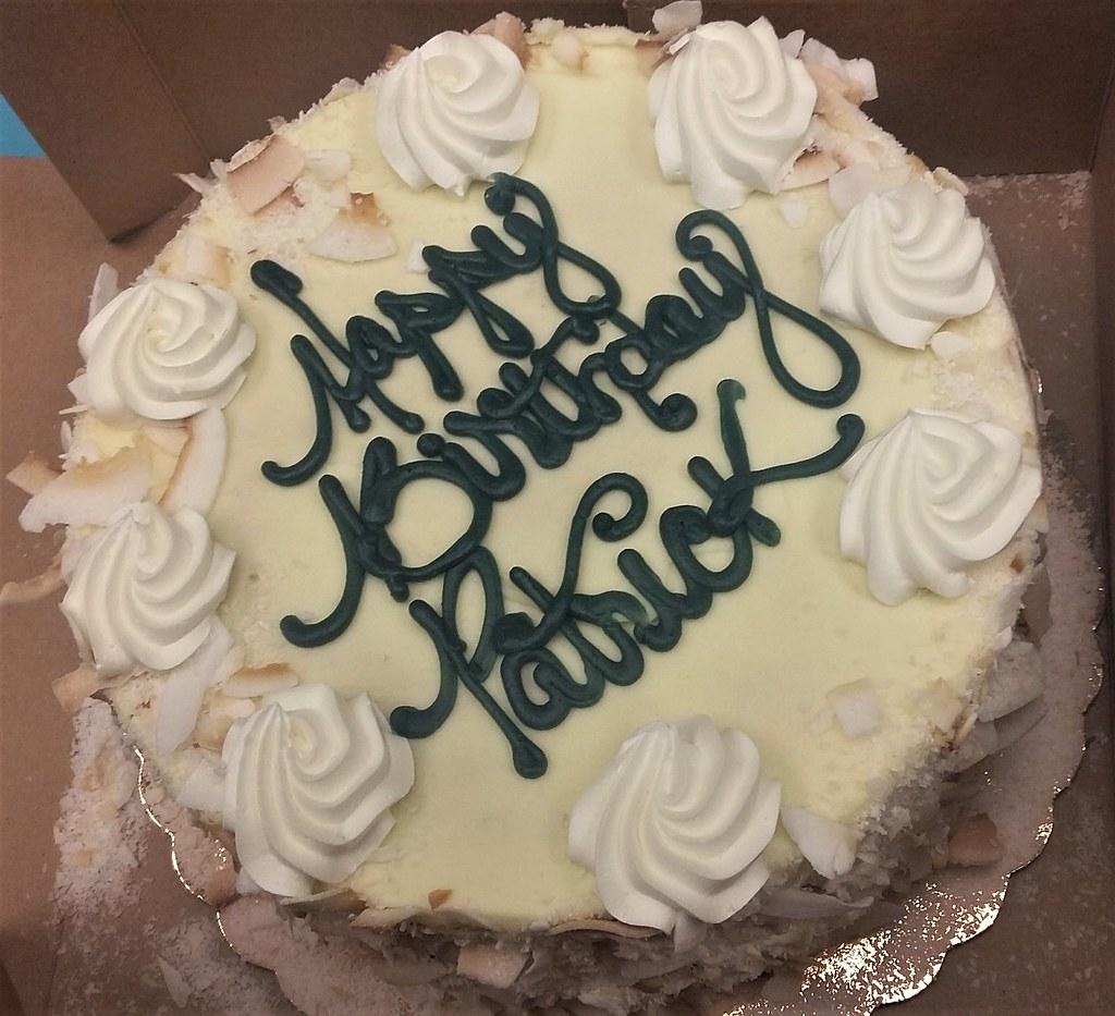 Surprising Whole Foods Market Birthday Cake Patricksmercy Flickr Personalised Birthday Cards Cominlily Jamesorg