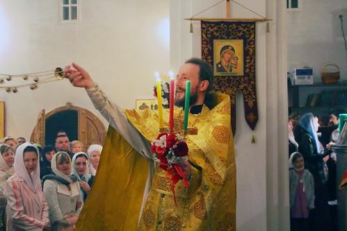 Пасхальное Богослужение в Свято-Никольском храме станицы Кавказской IMG_1289