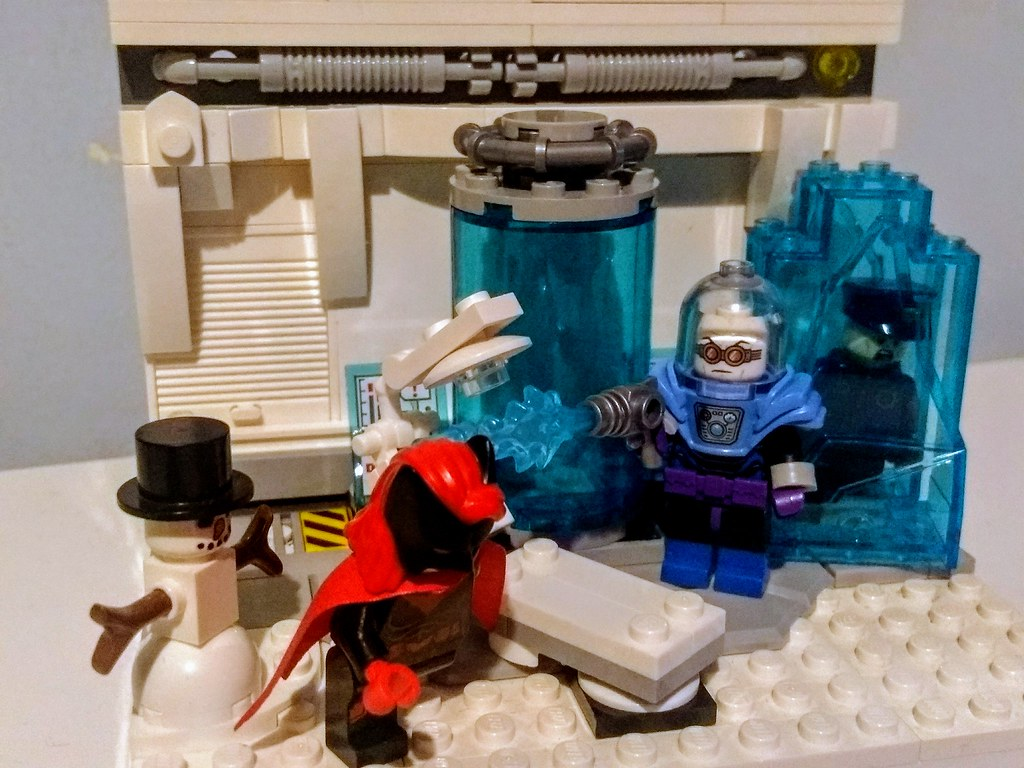 Cold Hearted- Batwoman vs Mr Freeze