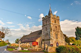 Isle of Wight, BRIGHSTONE, St Mary exterior | by The National Churches Trust