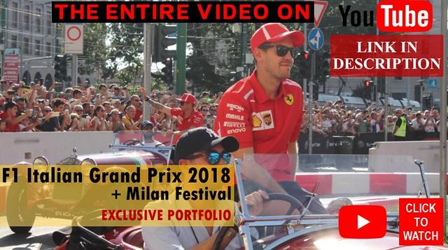 Formula 1 Italian Grand Prix 2018 + Milan Festival