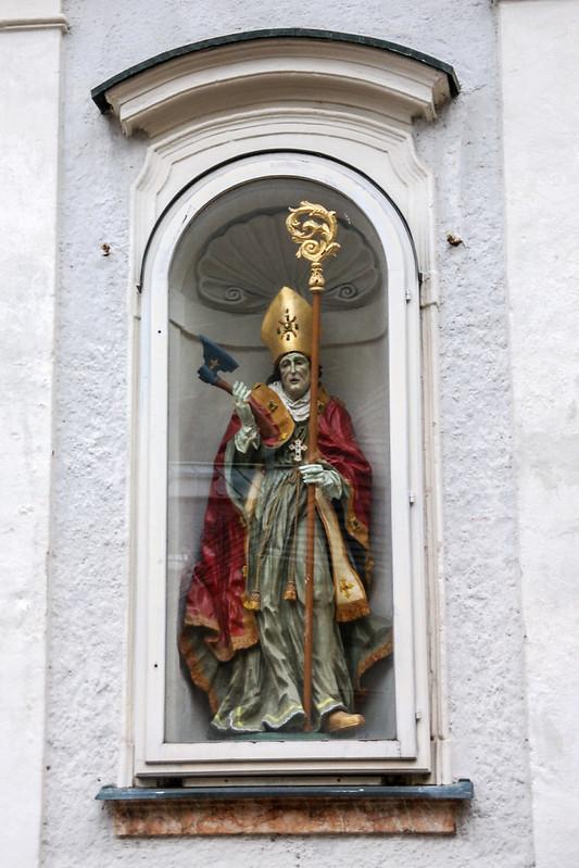 聖沃夫岡雕像