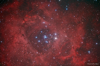 NGC2237. Rosette Nebula (New version)