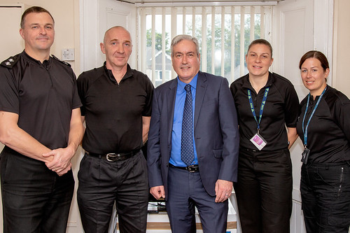 Meeting local police officers | by Iain Gray MSP