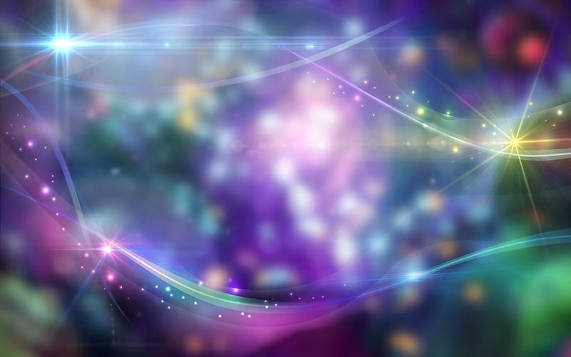 Обои абстракция, свет, блеск, блики, разноцветный картинки на рабочий стол, фото скачать бесплатно