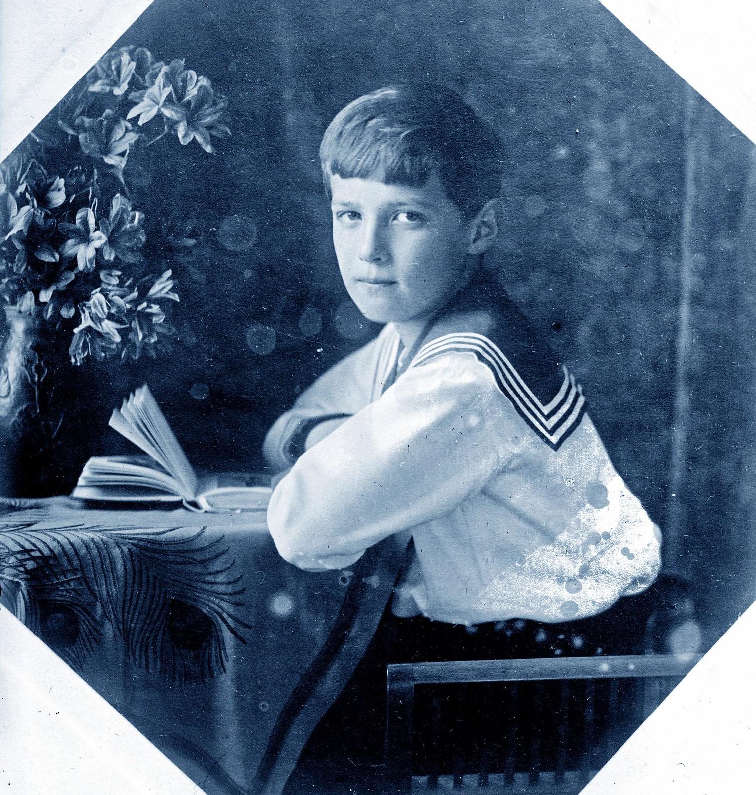 1910. Цесаревич Алексей Николаевич