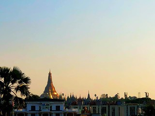 View of #shwedagonpagoda from ISY #schoolwithaview 😍 | by superkimbo