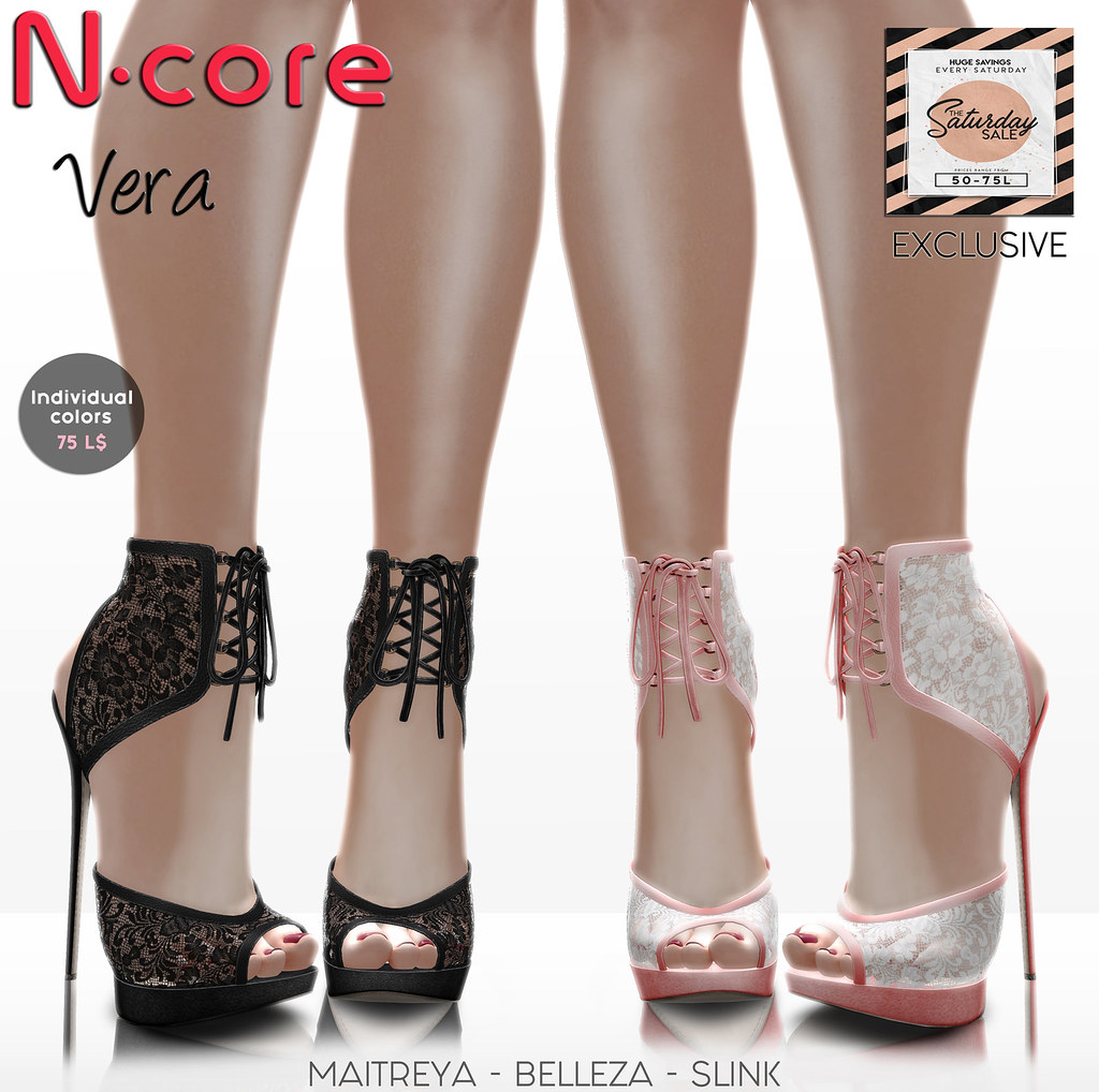 N-core VERA (New!) @ Saturday SALE (Coming April 6)