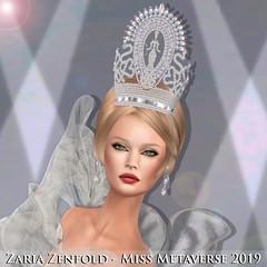 Zaria Zenfold - Miss Metaverse 2019