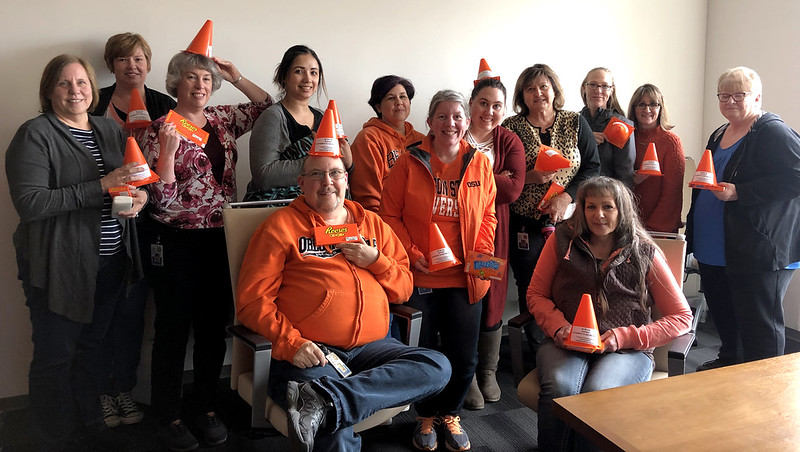 Financial Services goes orange