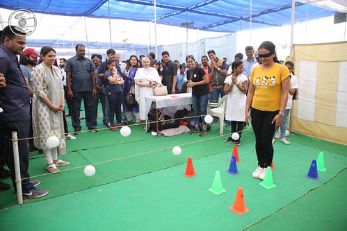 Blessings by Satguru Mata Ji at Pavilion of Mines Game
