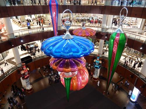 Dubai Mall - kerst