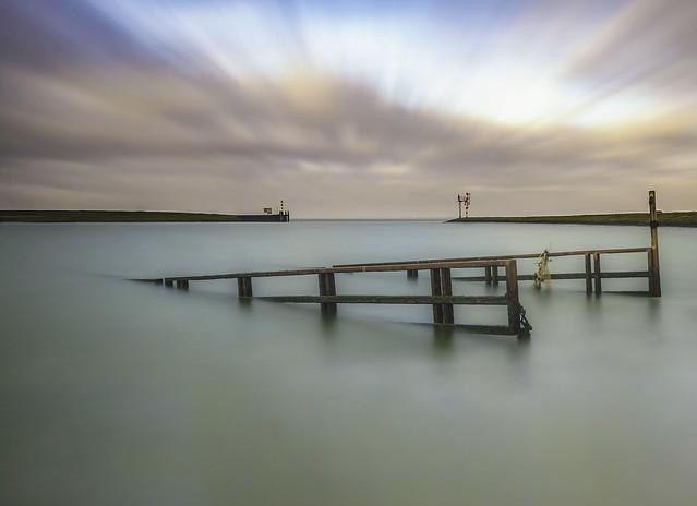 The port of Lauwersoog
