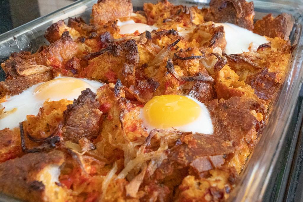 Spanish Breakfast Casserole Www Bonappetit Com Recipe Span