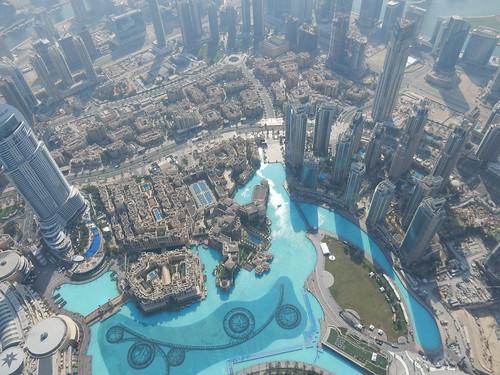 Dubai - vanaf Burj Khalif - 148th floor - 1