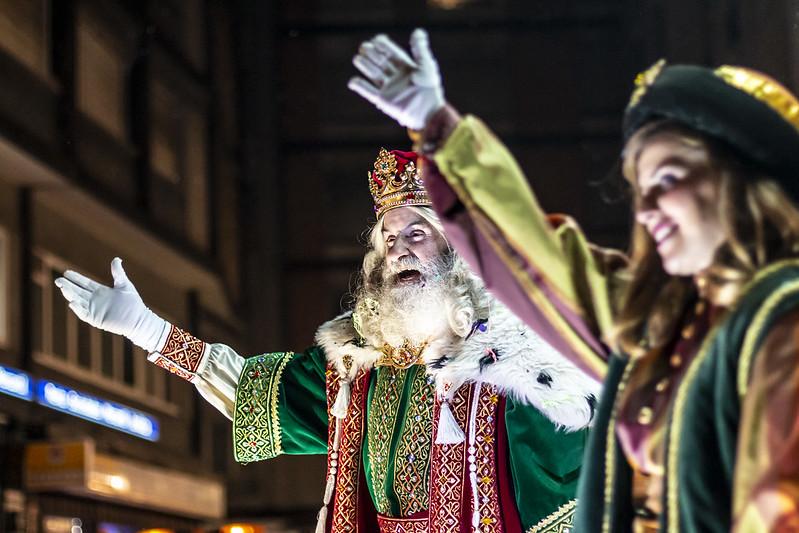 Cabalgata de Reyes 2019. Gijón.