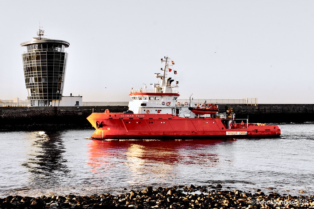 Glomar Pride - Aberdeen Harbour Scotland - 18/03/2019 | Flickr