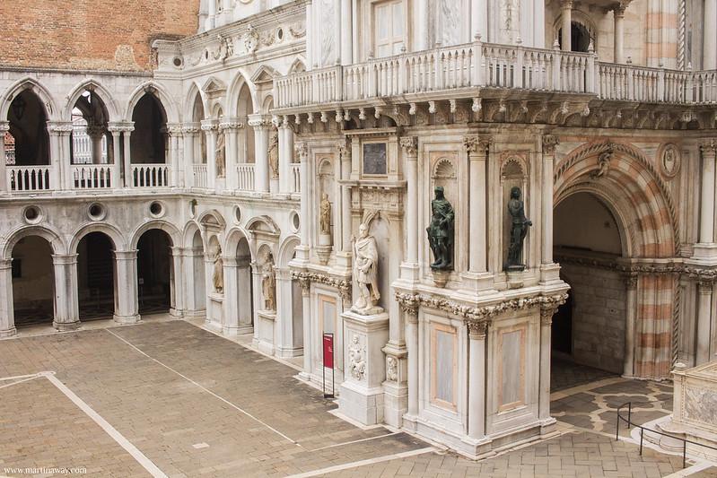 Cortile di Palazzo Ducale