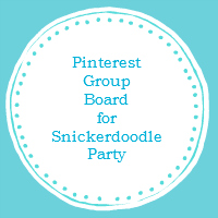 pinterest-group-board-logo-for-snickerdoodle-party-participants