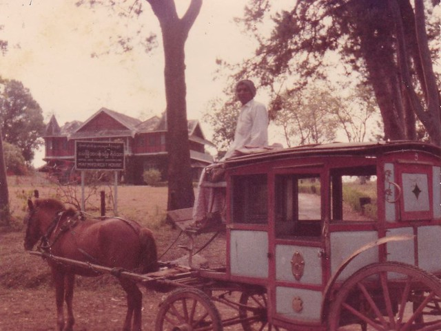Candacraig Guest House and Maymyo's Coach Taxi - Feb1977