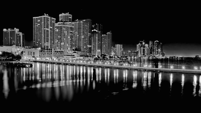 City of Miami, Edgewater neighborhood, Miami-Dade County, Florida, USA