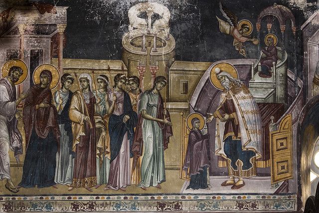 The Presentation of the Holy Virgin in the Temple