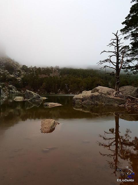 Anochecer en la Laguna Negra de Vinuesa 2