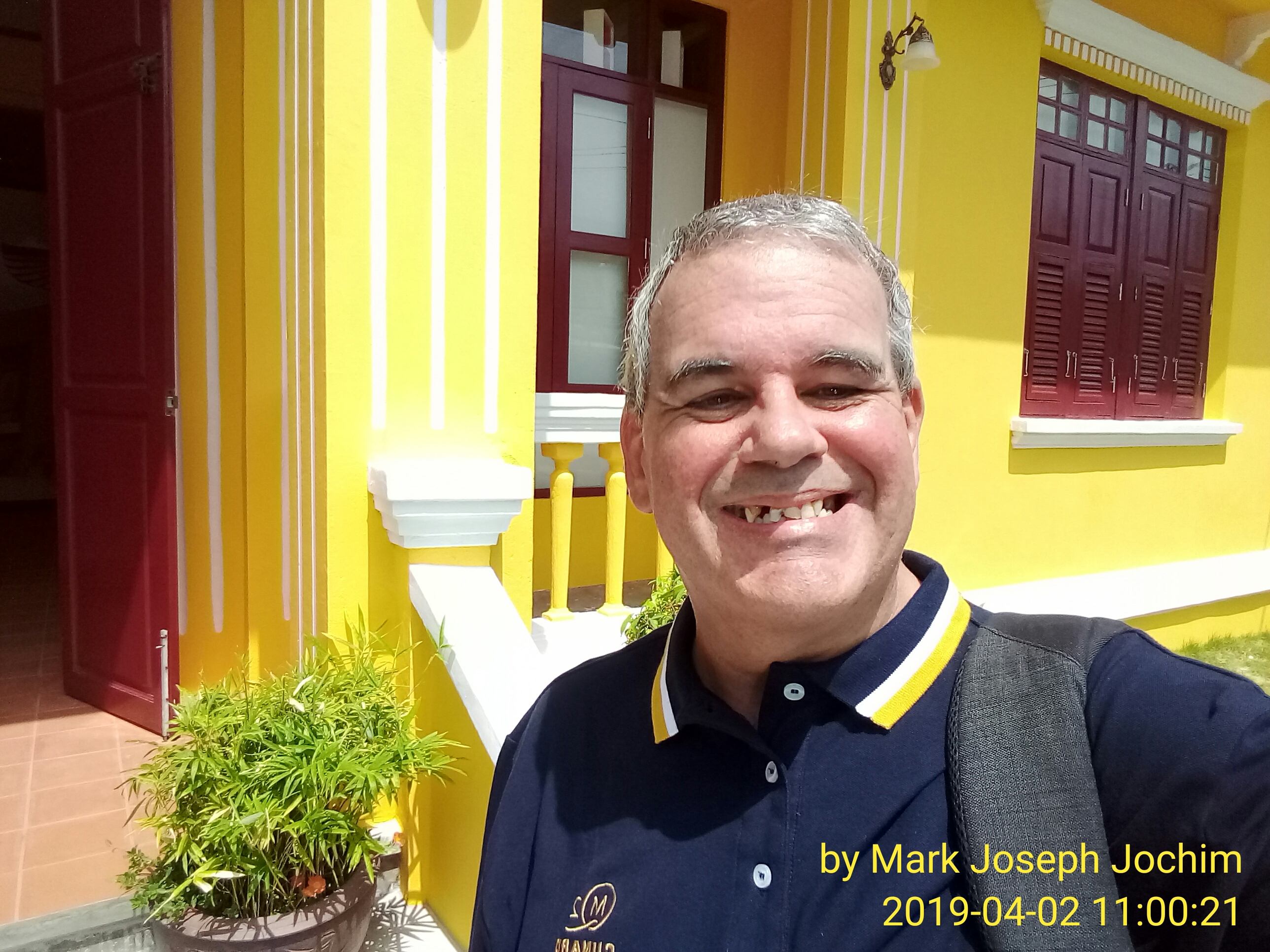 Mark Joseph Jochim at Phuket Philatelic Museum, April 2019