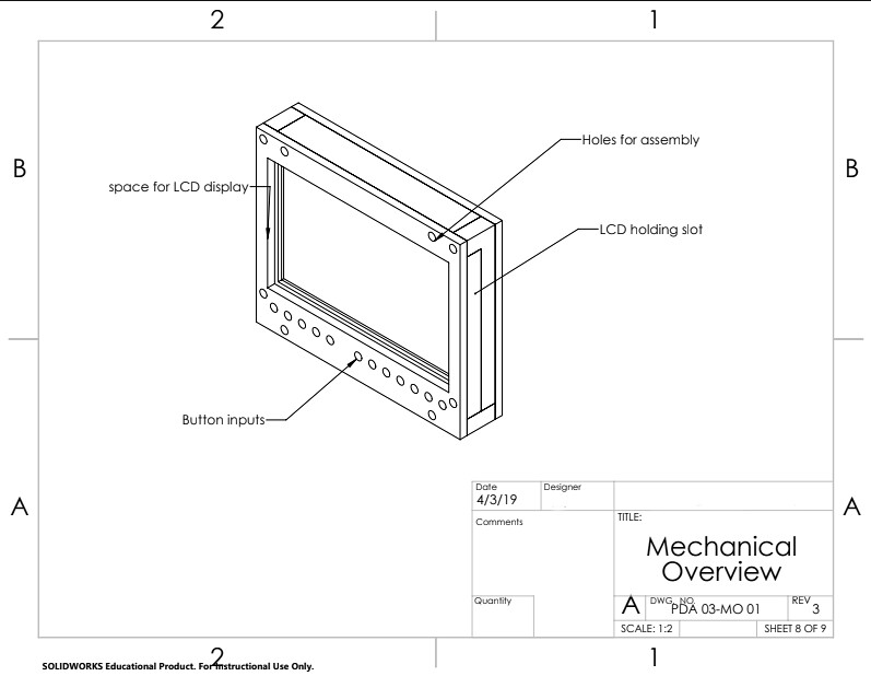 Arduino Mechanical Overview Project 3D printing and Machining