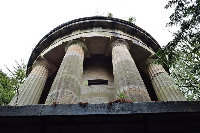 Forbes mausoleum, Callander Woods