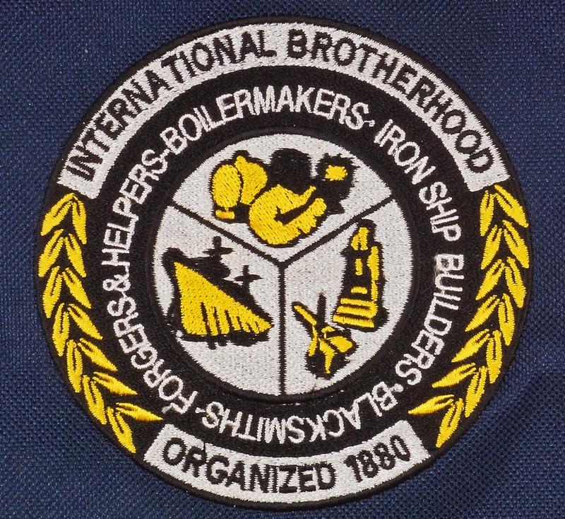 RD17312 Boilermakers, Shipbuilders, Blacksmiths, Forgers AFL-CIO-CFL Brotherhood Messenger Shoulder Bag DSC09435