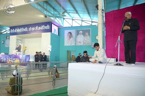 Vice President SNM, V.D. Nagpal, expresses his views