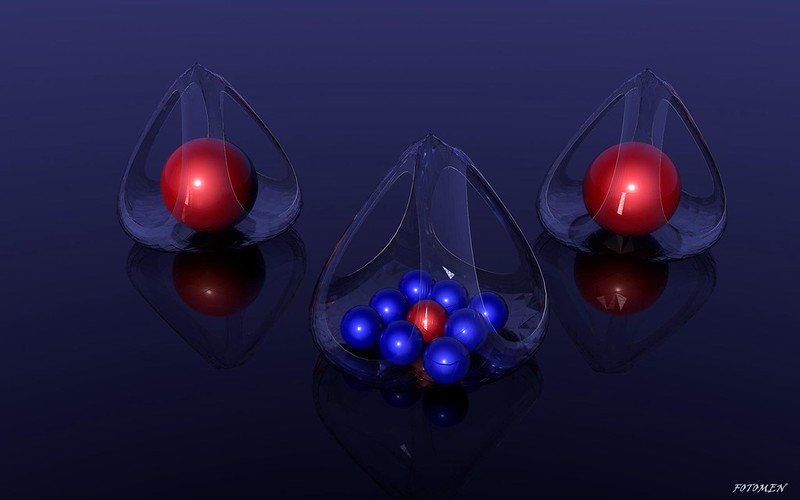 Обои шары, стекло, форма, поверхность картинки на рабочий стол, фото скачать бесплатно