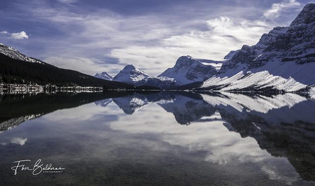 Bow Lake & Bow Peak