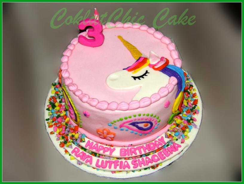 Cake Unicorn RAYA LUTFIA 18 cm