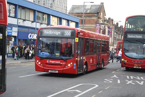 Stagecoach London 36287 LX11AXD