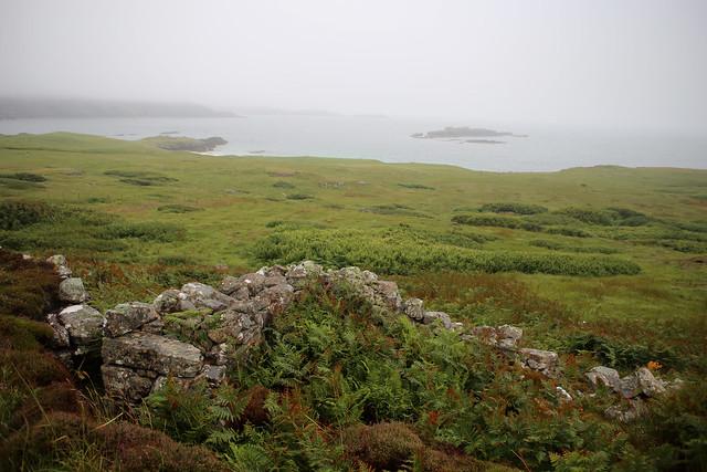 Handa Island former village