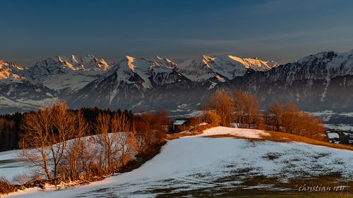 belpberg alpes bernoises alps berner alpen coucherdesoleil sunset bern hiver winter landscape paysage mountains bergen montagnes swiss schweiz sony alpha a7r2 a7rii 24105