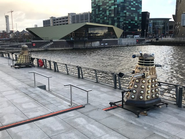 Doctor Who Illuminations - MediaCityUK, Manchester 2018