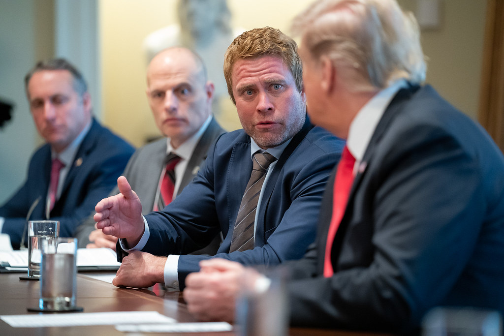 Trump Round Table.President Trump Holds A Roundtable On Human Trafficking Flickr
