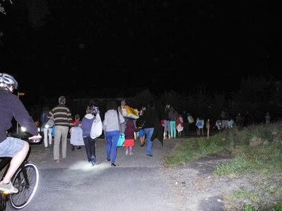 Fotos vom Open-Air-Kino, 17. August 2012