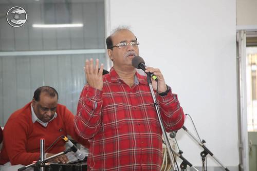 Raja Aapan, expresses his views